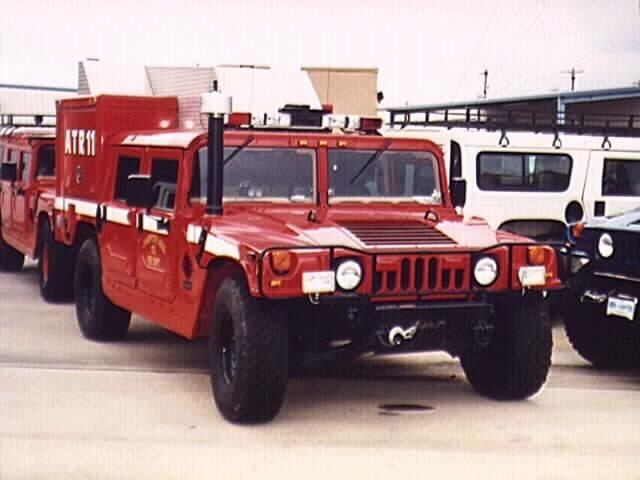 hummer fire truck